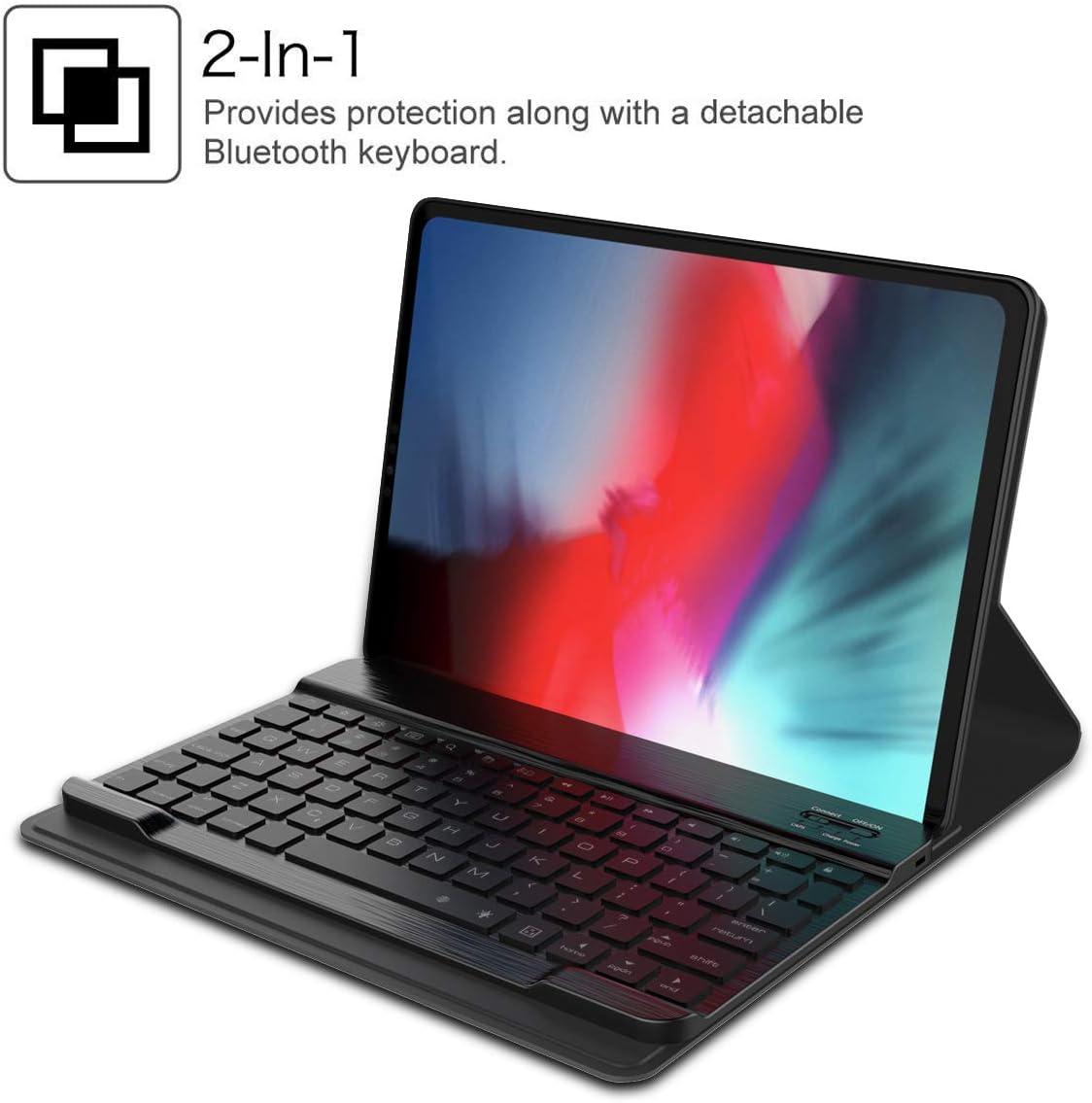 Caseforyou Ipad Pro 12 9 Zoll 2018 Hülle Tastatur Elektronik