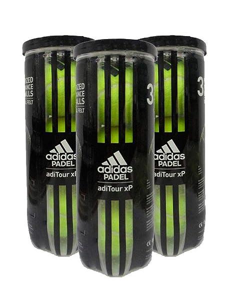 adidas Pelotas Padel ADITOUR XP: Amazon.es: Deportes y aire ...