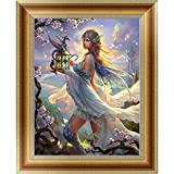 Adarl 5D DIY Diamond Painting Rhinestone Pictures Of Crystals Embroidery Kits Arts, Crafts & Sewing Cross Stitch (Goddess)