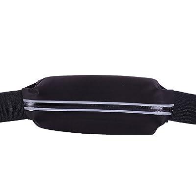 high-quality ZumZup Running Belt Fanny Waist Pack Belt iPhone X/8/7 Plus Adjustable Waist for Men and Women