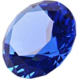 LONGWIN 60mm Diameter Crystal Faceted Diamond Paperweight Wedding Favor Christmas Ornaments Home D¨¦cor