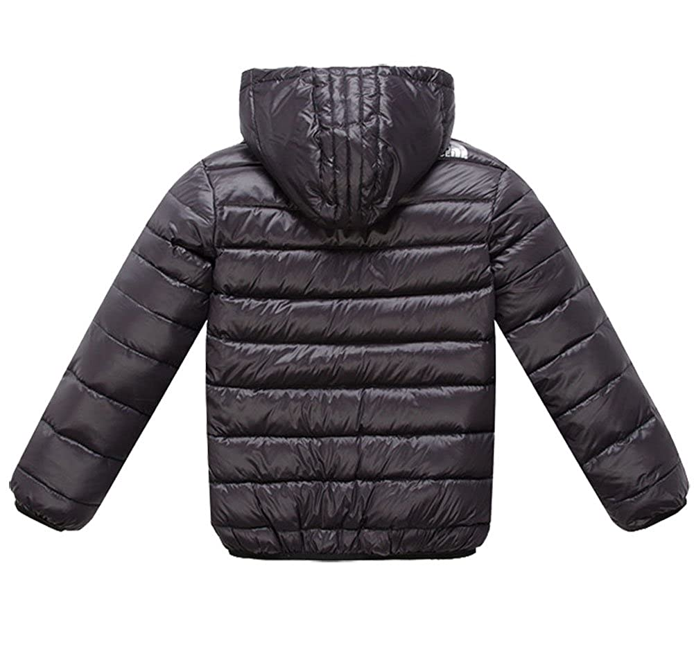 Dolpind Big Girls Winter Jacket Coat With Hooded Puffer Thin Down Jacket