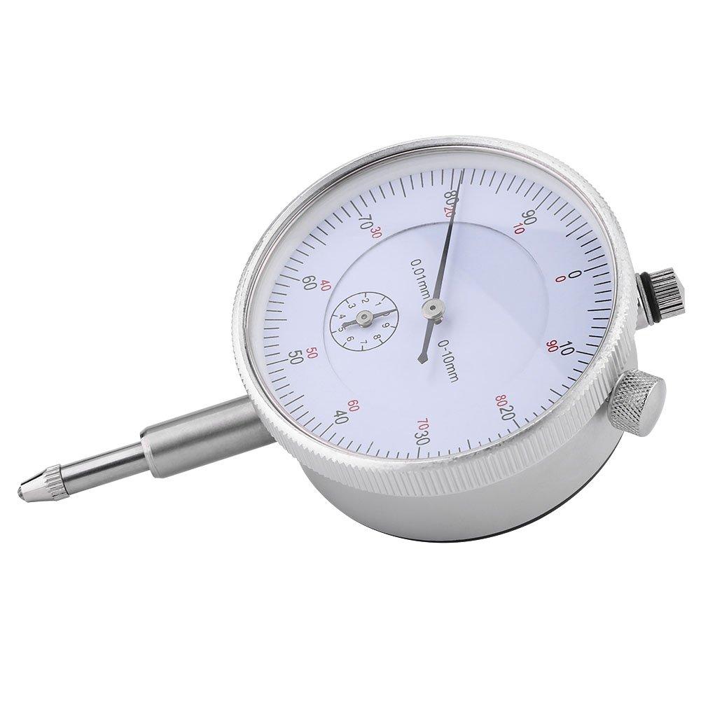 Fdit Dial Digital Indicator Gauge 0.01mm Accuracy Measuring Meter Kit High Precision Instrument Tool
