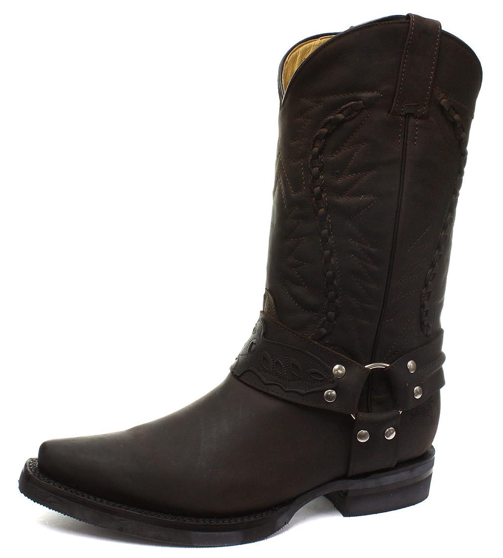good grinders galveston mens cowboy biker boots. Black Bedroom Furniture Sets. Home Design Ideas