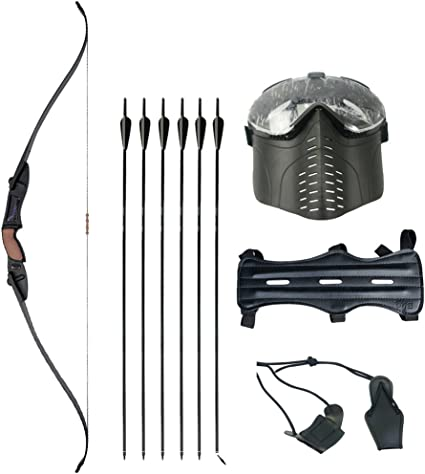 Arrow Rest Plastic Recurve Bow Right Hand /& Left Hand Black And White Color hf
