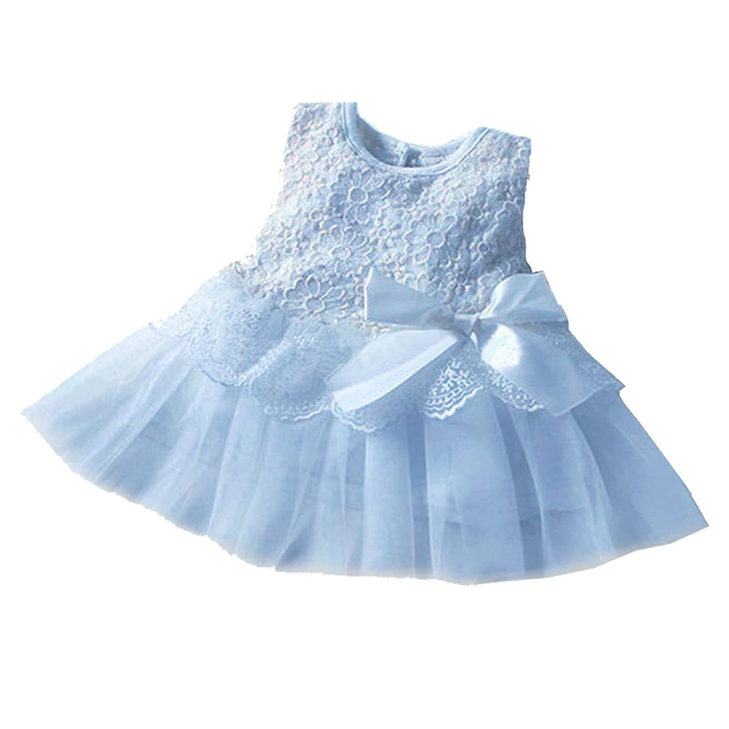 Cute Girls Dress Baby Kids Infants Toddlers Princess Party Gown ...