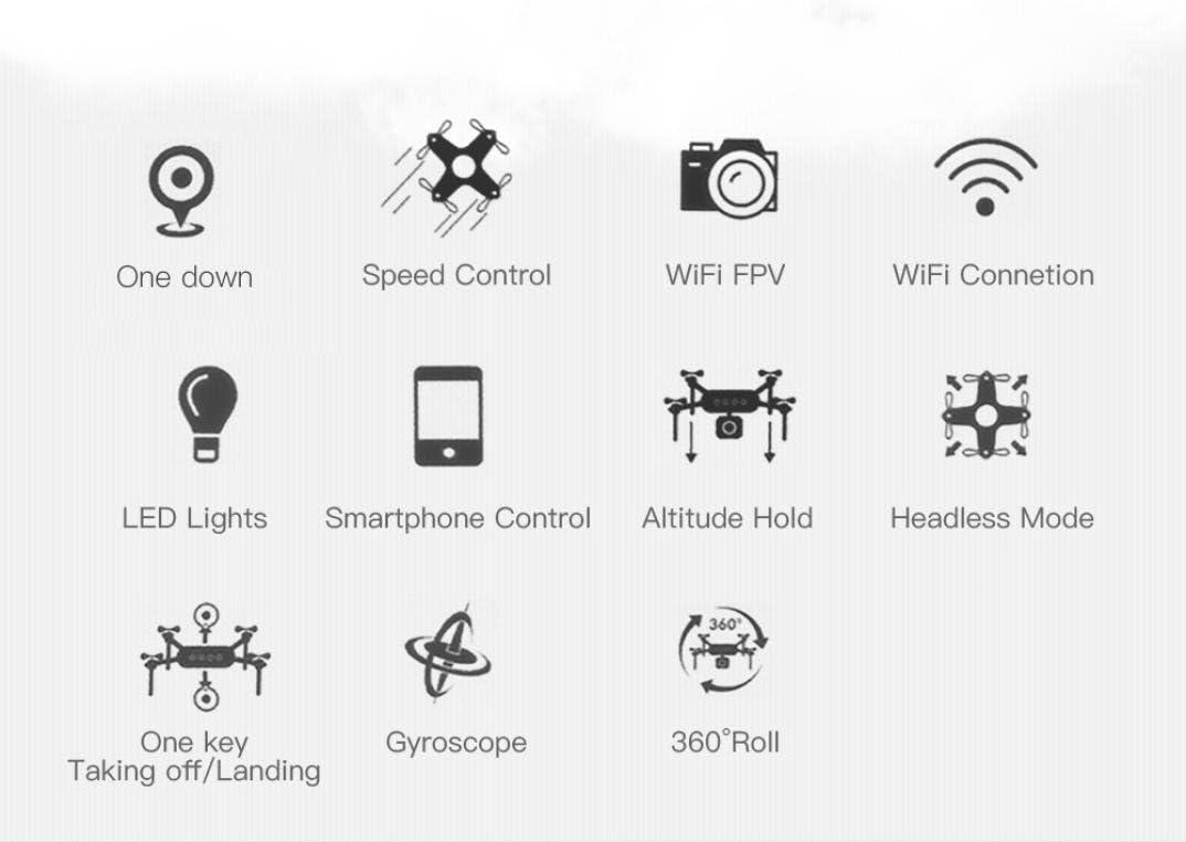 SG700 Cuadricóptero Dron WiFi 2.0 mp, Mamum SG700 Cuadricóptero ...