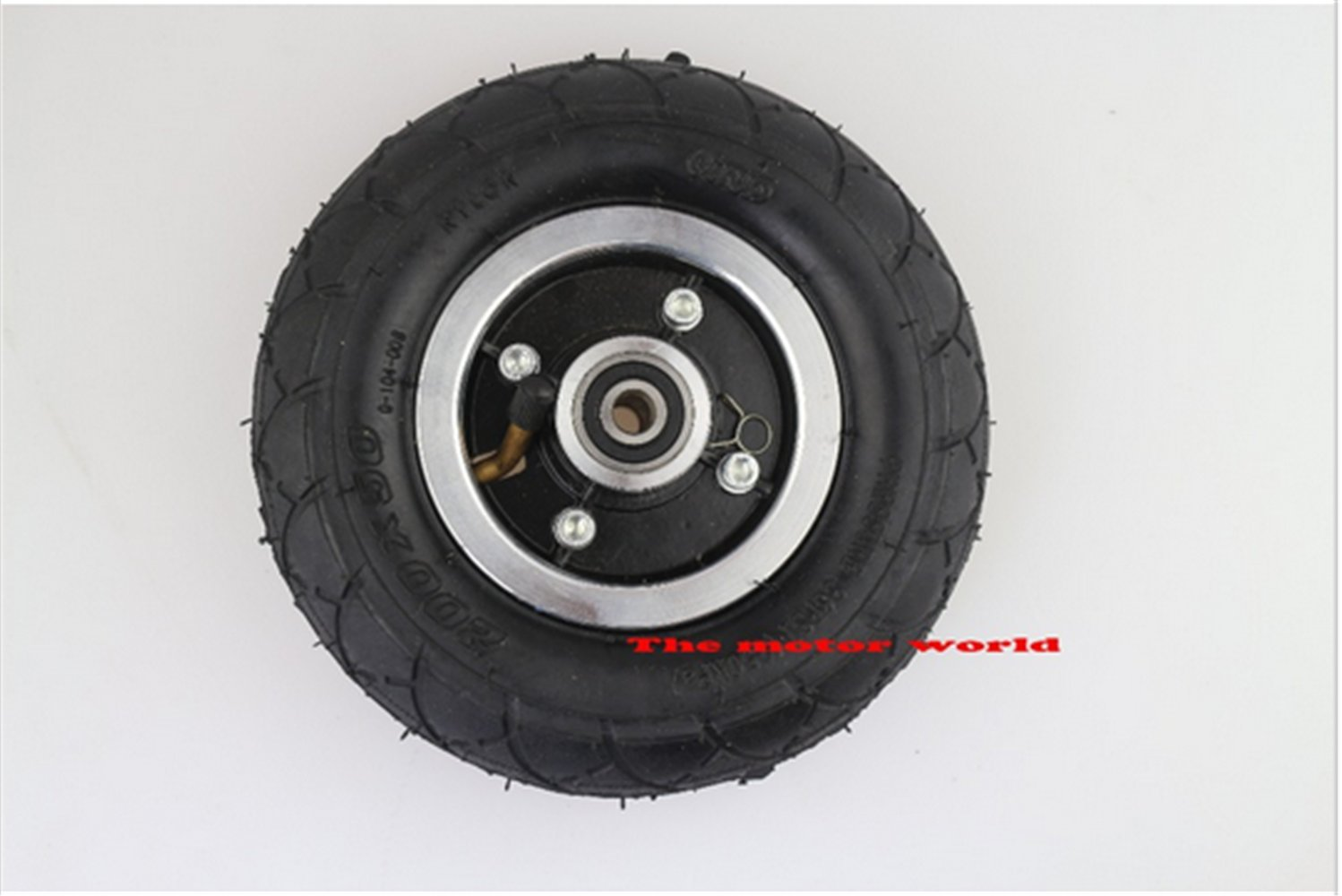 Electric Scooter Tyre With Wheel Hub 8'' Scooter 200x50 Tyre Inflation Electric Vehicle Aluminium Alloy Wheel Pneumatic Tire