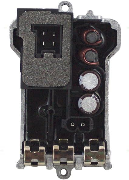 Mercedes Heater Blower Resistor Regulator Control Motor Replacement Genuine OE