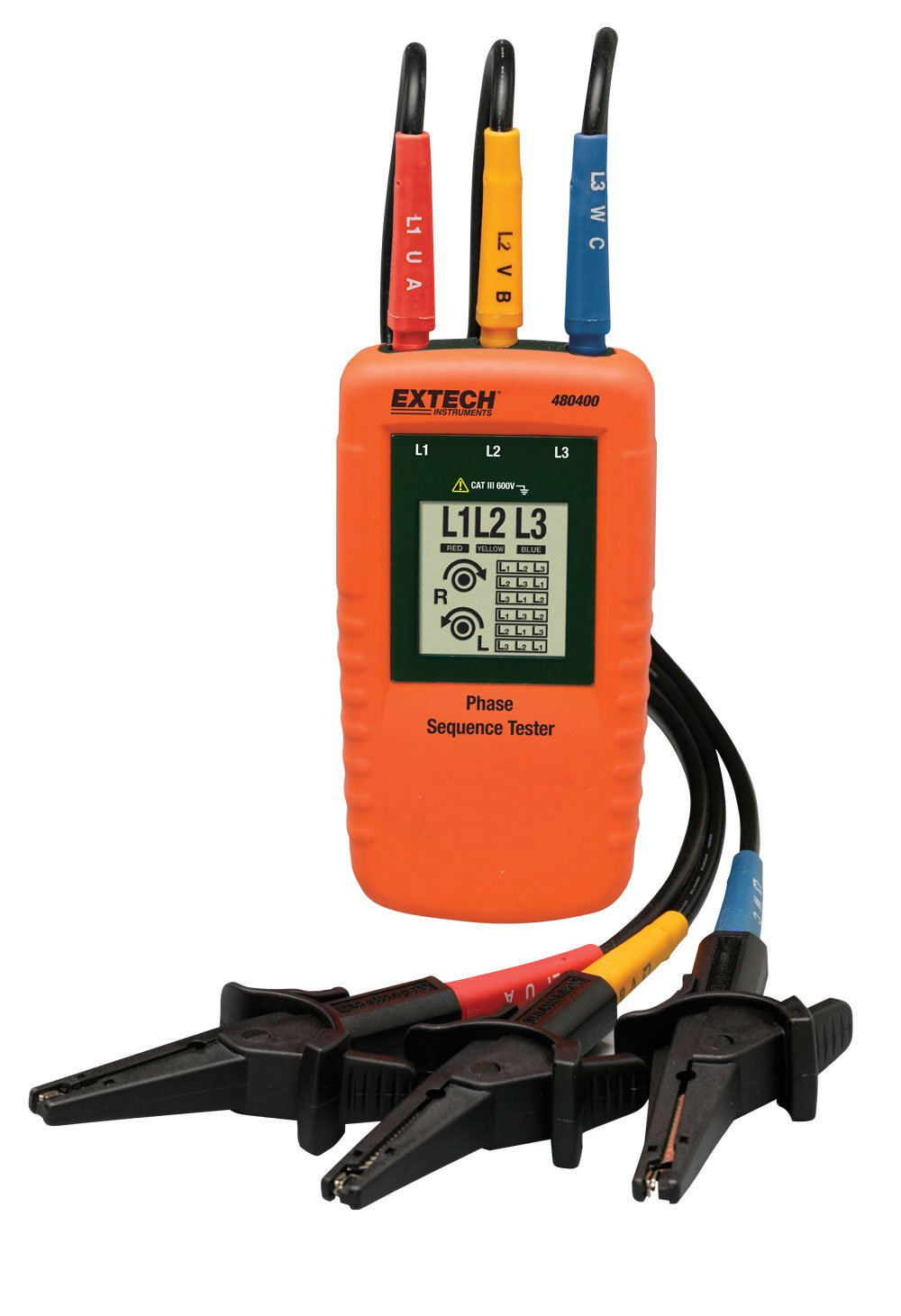 Extech Instruments 480400 Phase Sequence Tester