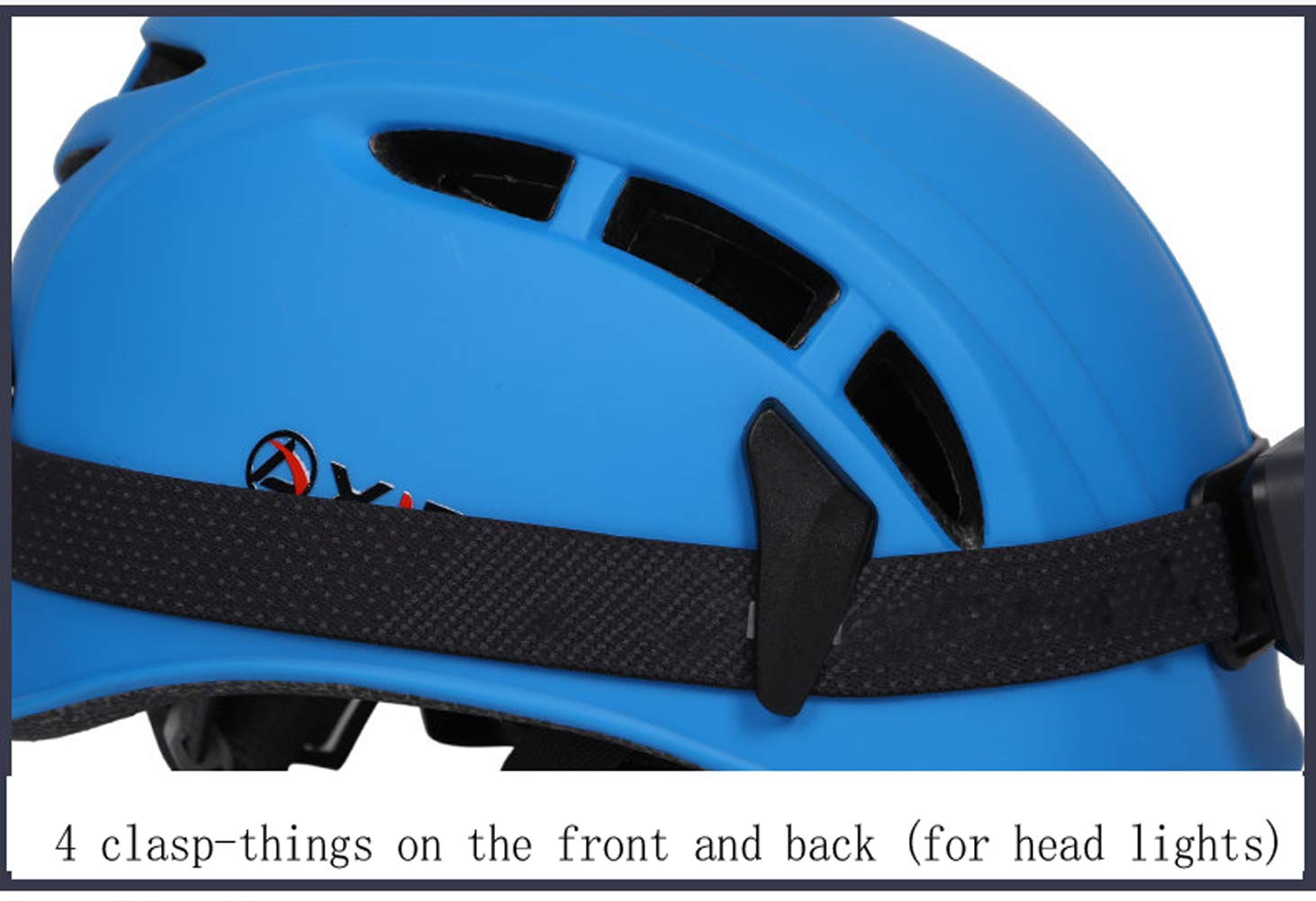 NEFTF Rock Climbing Helmet Outdoor for Men Women Canyoneering Caving Riding