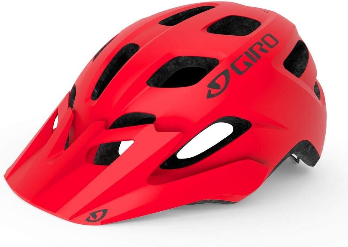 Matte Bright Red Giro Tremor MIPS Bicycle Helmet