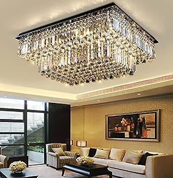 WR K9 LED lighting ceiling lamp crystal lamp living room lamp bedroom lamp Variety of sizes. (100cm x 80cm x 35cm)