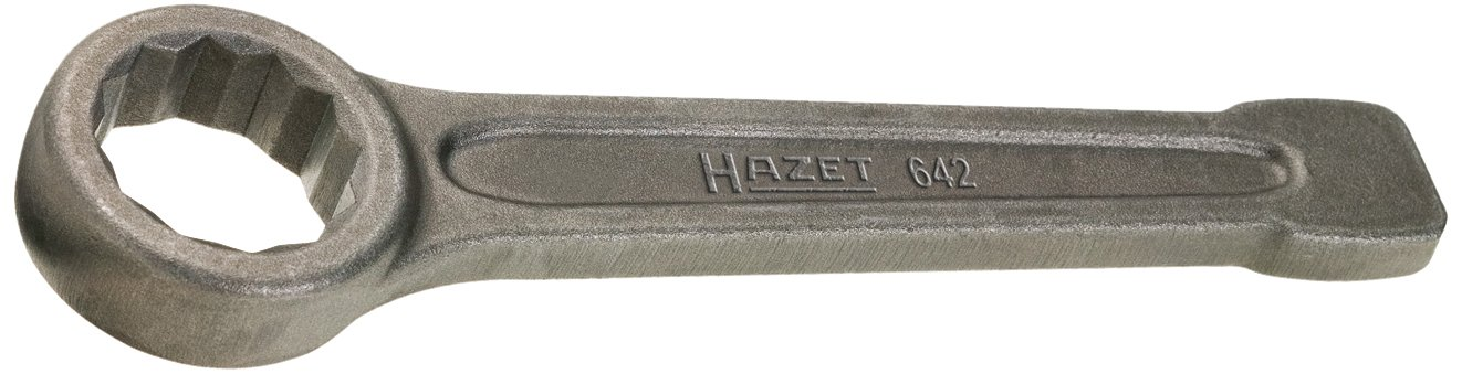 Striking Face Hazet 642-30 Box-End Wrench Size 30 12 Pt