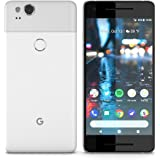 Google Pixel 2 GSM/CDMA Google Unlocked (Clearly White, 64GB) (Renewed)