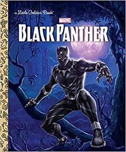 0f440f0f2d3 Amazon.com  Black Panther Little Golden Book (Marvel  Black Panther)  (9781524763886)  Frank Berrios