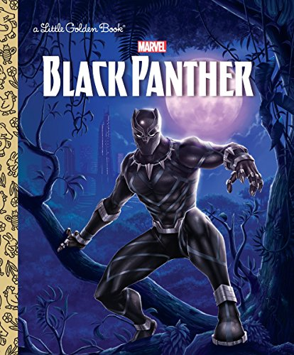 Black Panther Little Golden Book (Marvel: Black Panther)]()