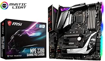MSI MPG Z390 GAMING PRO CARBON Performance - Placa base (LGA 1151 ...