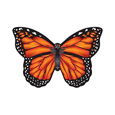 "WindNSun Microkite Mini Mylar Butterfly 4.7"" Monarch Kite: Toys & Games"