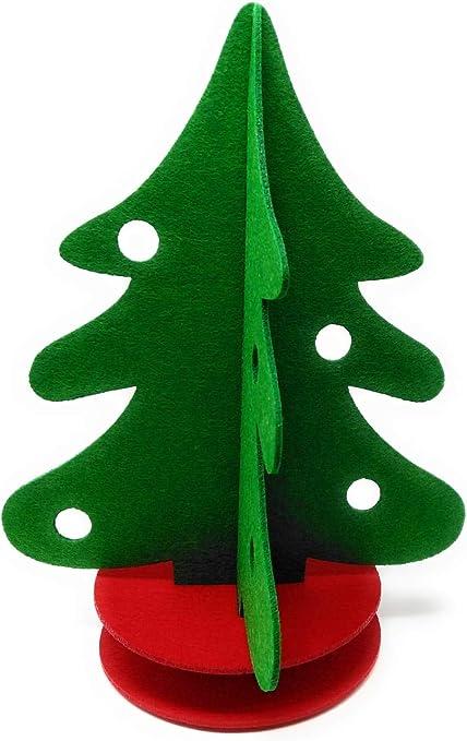 Albero Di Natale 40cm.Il Albero Di Natale In Feltro 40 Cm Amazon It Casa E Cucina