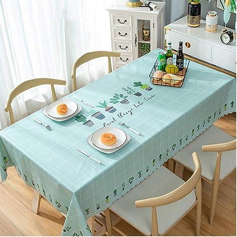 Amazon.com - Gcxzb RectangleWaterproof Table clothPVC Table ...
