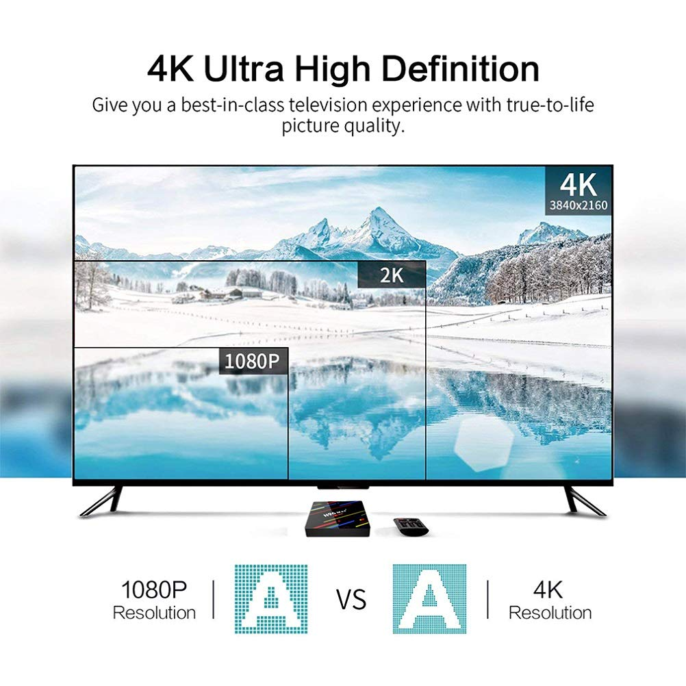2018 Latest Android 8 1 OS/] H96 Max Plus 4GB 64GB Smart TV