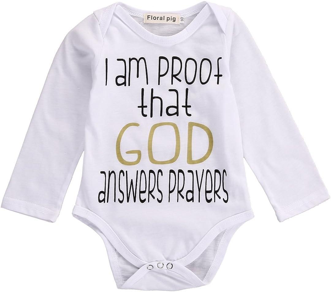 Rachel Charm Infant Baby Kids Letter Printed Long Sleeve Bodysuit Romper Jumpsuit Clothes Outfits