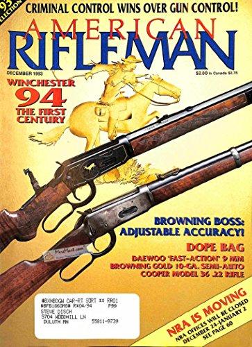 American Rifleman, December 1993