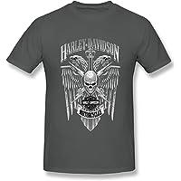 Harley Davidson Mortorcycles t-shirt för män kortärmad t-shirt herr rund hals herr t-shirt