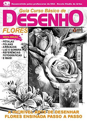 Amazon Com Guia Curso Basico De Desenho Flores Portuguese