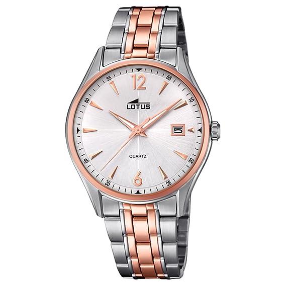 Lotus reloj hombre Klassik Stahlband klassisch 18376/2: Lotus: Amazon.es: Relojes