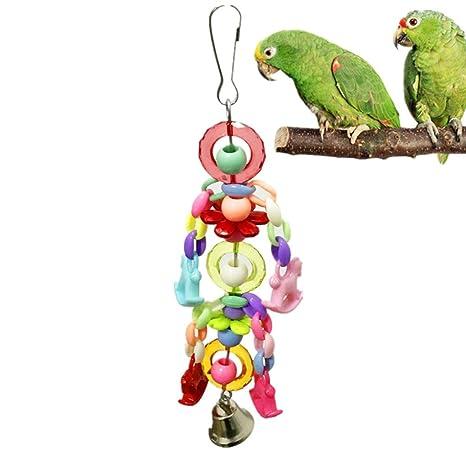 Y56 papageienspielzeug Pegatina mascotas jaula loros bambolearse ...