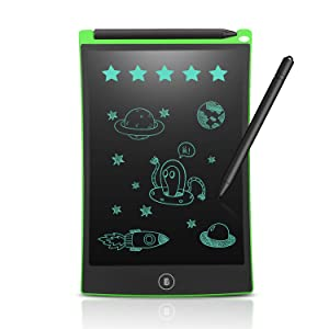 Newyes 8.5-Inch LCD Writing Tablet-Can Be Used as Office Whiteboard Bulletin Board Kitchen Memo Notice Fridge Board Large Daily Planner Gifts for Kids (Green)