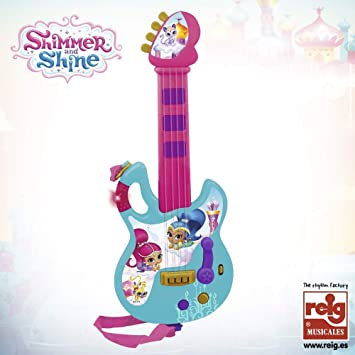 Shimmer & Shine- Guitarra Infantil (Claudio Reig 3524): Amazon.es ...