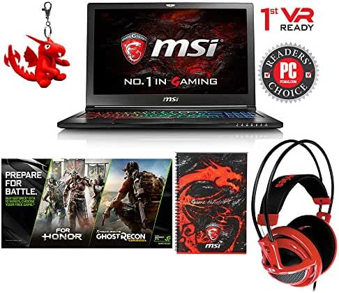MSI GS63VR Stealth Pro-422 15.6
