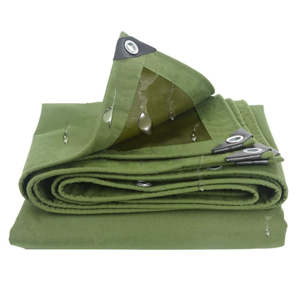 3mx4m BÂches BÂche Extérieure Imperméable Poly BÂche Pare-Soleil BÂches Multi-Usage Solscreen Tissu pour la Randonnée Pique-Nique Usine Ombre Camping