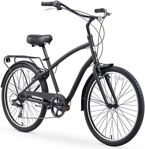 Sixthreezero EVRYjourney Bicicleta híbrida de Acero para Hombre ...