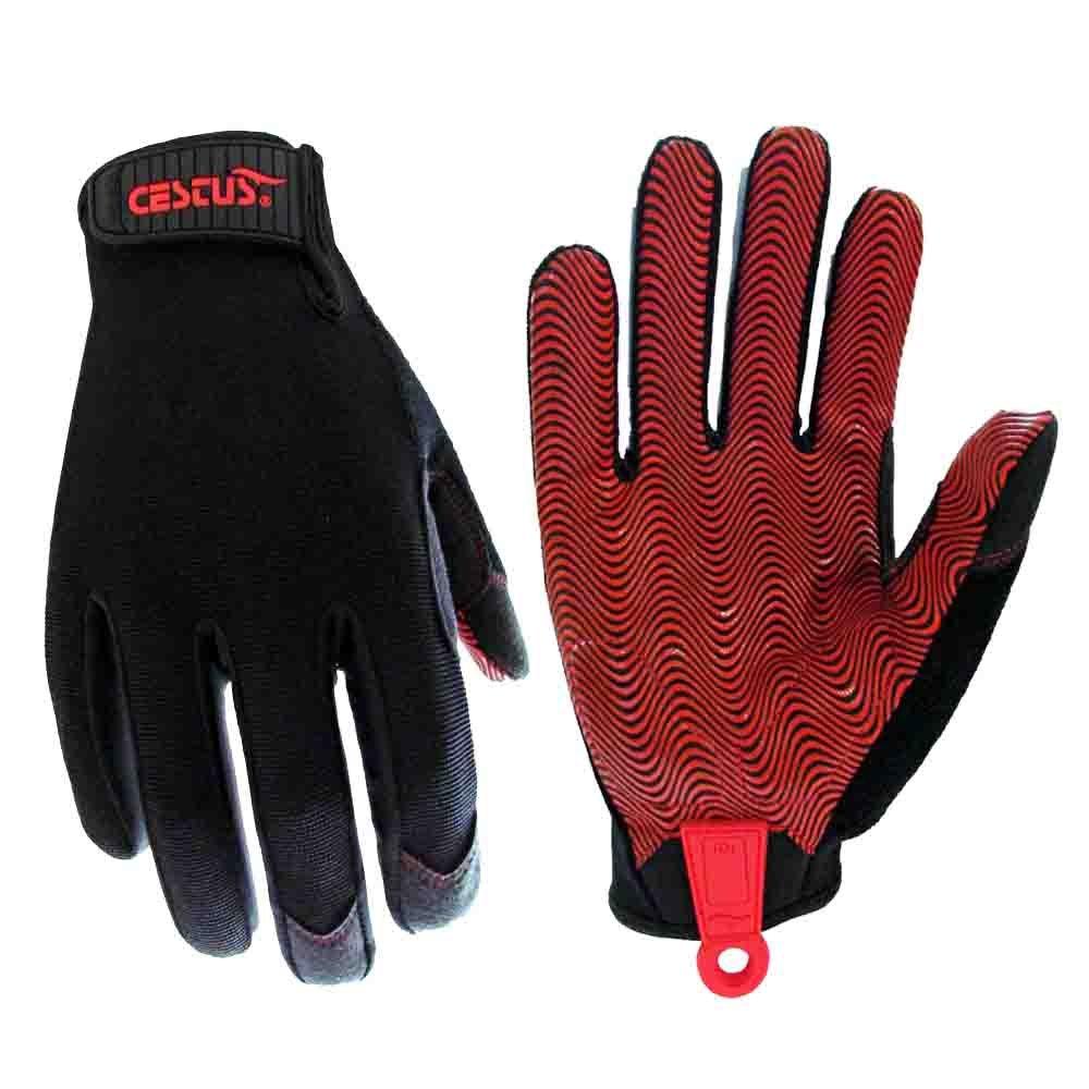 Cestus Boxx 4041 2XL Handler Series Boxx Lightweight Ripple Grip Glove, Work, Cut Resistant, 2X-Large Cestusline Inc