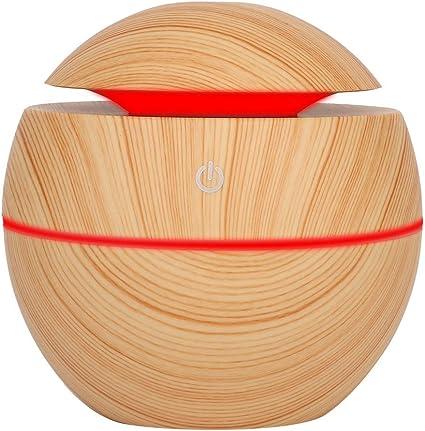 130ml Humidificador de Esencias #1 Habitaci/ón de Beb/é Sala de Yoga Ultras/ónico Humidificador para Hogar Oficina Dormitorio Difusor de Aromas Humificadores de Aromaterapia SPA