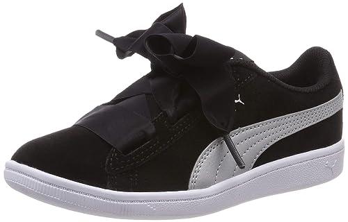 Puma Vikky Ribbon AC PS, Zapatillas para Niñas: Amazon.es: Zapatos y complementos