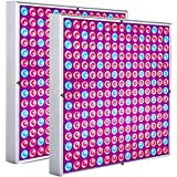 Diboys LED Grow Light, 45W Seedling Grow Light for Indoor Plants Germination Vegetable and Flower(2 Pack)