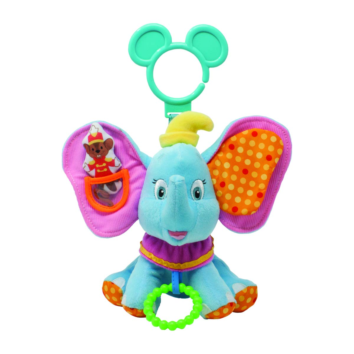 Amazon Com Disney Baby Dumbo Stick Rattle Baby