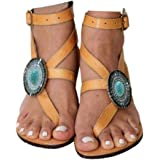 Women's Gladiator Sandals,Cross Tie Flat Sandals,Beach Sandals