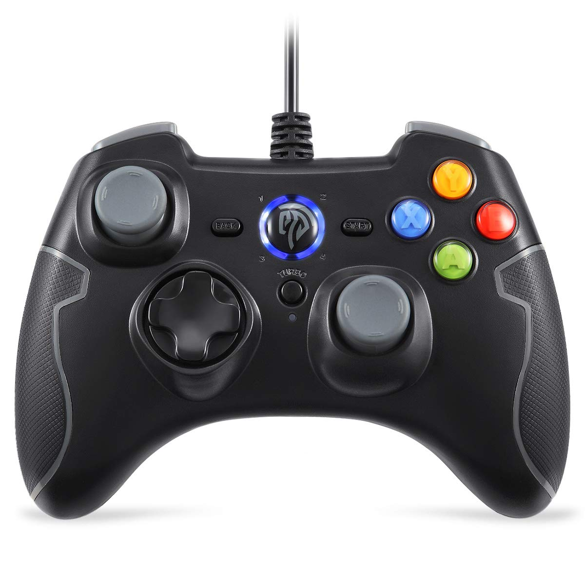Amazon.com: EasySMX Wired Gaming Controller, PC Game Controller ...