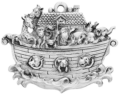 Noah Ark Pewter Ornament made in New Hampshire