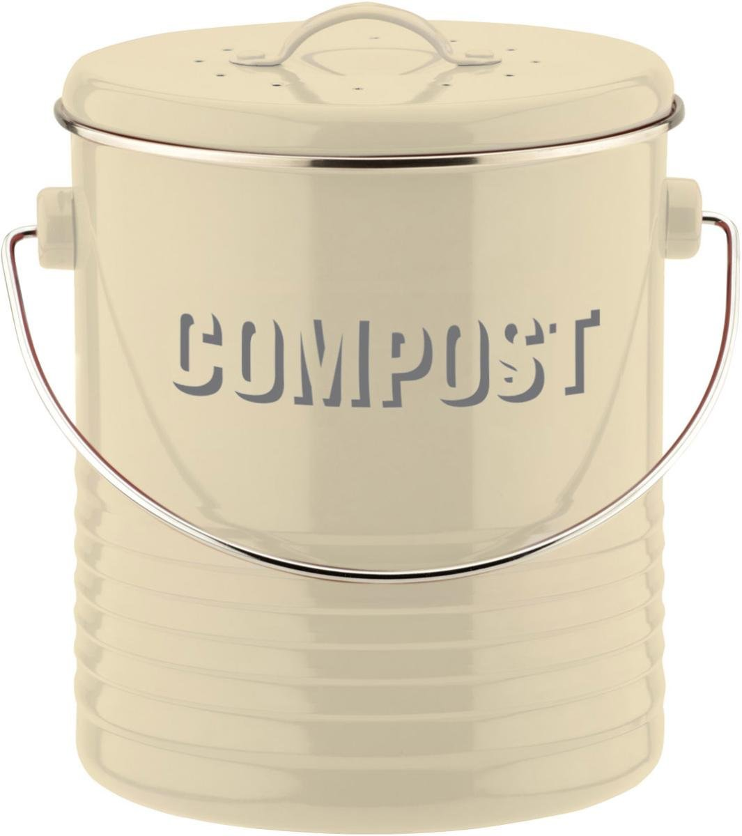 Typhoon Vintage Kitchen Cream Compost Caddy 1400.551