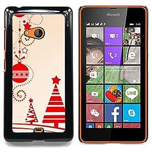 - Christmas Decorations Tree Red Winter - - Monedero pared Design Premium cuero del tir???¡¯???€????€???????????