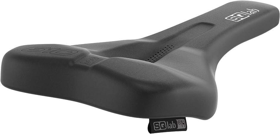 Various Wide Sqlab 610 Ergolux 2.0 Trekking MTB Bicycle Saddle Black