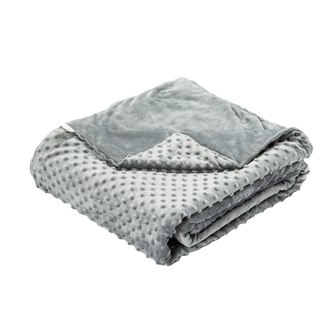 RCURT Weighted Blanket for Adults/Kids,Improve give You Better Sleep,20lbs/16lbs/12lbs 60''x80'',7lbs 41''x56''and Removable Washable Cover (60''x80'' Cover)