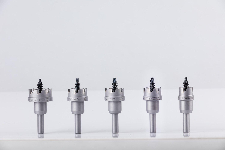 EZARC Scie Cloches de Qualit/é Industrielle de la scie emporte-pi/èce en Carbure de Tungst/ène /à Haute Performance pour lacier Inoxydable 27mm